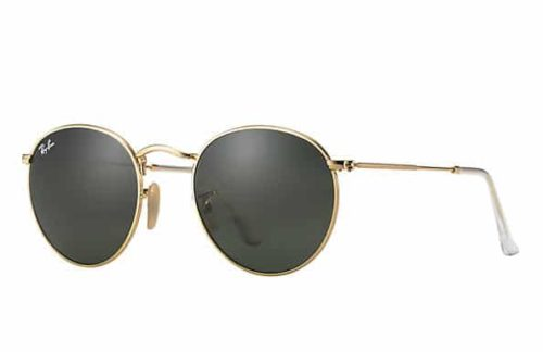 RAYBAN RB3447 ROUND METAL 001 53-21-145